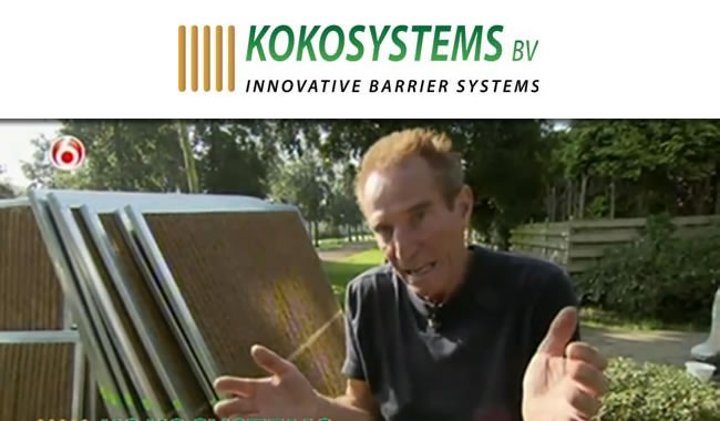 Kokosystems Kokowall Tuinschermen