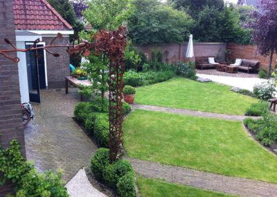 Herhalende vormen in de tuin